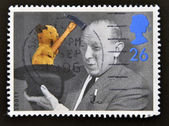 A stamp printed in Great Britain shows Sooty — Stock Photo