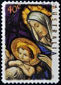 Madonna y el niño, navidad — Foto de Stock