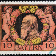 Stamp printed in Bavarishows Prince Regent Luitpold of Bavaria — Stock Photo #12755726