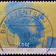 A stamp printed in Germany shows Nobel Prize winner for literature Hermann Hesse - Stockfoto