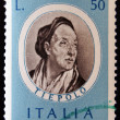 Stamp printed in Italy shows Giovanni Battista Tiepolo — Stock Photo