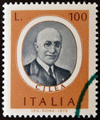 Stamp printed in Italy, dedicated to Famous musicians shows Francesco Cilea — Stock Photo