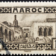 A stamp printed in Morocco shows Tangier — Stock Photo #13552872