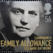 A stamp printed in Great Britain shows Eleanor Rathbone — Stock Photo #13669920