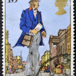 UNITED KINGDOM - CIRCA 1979: A stamp printed in Great Britain shows London post, 1839, circa 1979 — Stock Photo #13787646