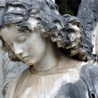 Statue of an angel at the Cemetery — Stock Photo