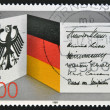 GERMANY - CIRCA 1989: A stamp printed in Germany dedicated to 40 years of the Federal Republic of Germany, circa 1989 — Stock Photo