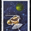 CUB- CIRC1967: stamp printed in Cubshows space satellite Venusik, circ1967 — Stock Photo #14182882