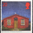 Stock Photo: UNITED KINGDOM - CIRCA 1997: A stamp printed in Great Britain shows Post Offices, Haroldswick, Shetland Islands, Scotland, circa 1997