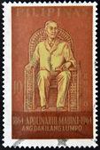 PHILIPPINES - CIRCA 1964: A stamp printed in Philippines shows Apolinario Mabini, circa 1964 — Stockfoto