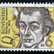 Stamp printed in Slovakishows Wolfgang von Kempelen — Stock Photo #15466225