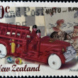 Stock Photo: Stamp printed in New Zealand dedicated to nostalgia, shows Toys
