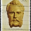 AUSTRALIA - CIRCA 1983: stamp printed in Australia shows Alexander Forrest, circa 1983 - Stock Photo