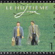 BELGIUM - CIRCA 1998: A stamp printed in Belgium shows The Eighth Day (film), circa 1998 — Stock Photo