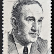 CANADA - CIRCA 1970: A stamp printed in Canada shows Pierre Laporte, circa 1970 - Stock Photo