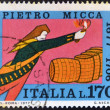 ITALY - CIRCA 1970: A stamp printed in Italy shows Pietro Micca, circa 1970 — Stock Photo