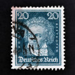 GERMANY - CIRCA 1927: A stamp printed in German Empire show Ludwig van Beethoven, circa 1927 - ストック写真