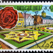Stock Photo: BELGIUM - CIRC1969: stamp printed in Belgium shows Lochristi, circ1969
