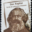 INDIA - CIRCA 1983: stamp printed in India shows Karl Marx, circa 1983 - ストック写真