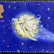 UNITED KINGDOM - CIRCA 2002: A stamp printed in Great Britain shows tinkerbell. Stamp dedicated to Peter Pan, circa 2002 - ストック写真