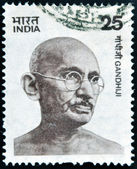 INDIA - CIRCA 1976: stamp printed in India shows Mahatma Gandhi, circa 1976 — Stock Photo