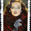 UNITED STATES OF AMERICA - CIRCA 2008: A stamp printed in USA shows Bette Davis, circa 2008 - Stock Photo
