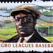 UNITED STATES OF AMERICA - CIRCA 2010: A stamp printed in USA dedicated to negro leagues baseball, shows Rube Foster, circa 2010 — Stock Photo