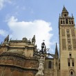 Seville Cathedral and Giralda Tower — Lizenzfreies Foto