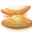 Royalty-Free Stock Photo: Two white breads