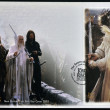 Постер, плакат: NEW ZEALAND CIRCA 2003: stamp printed in New Zealand dedicated to The Lord of the Rings shows Gandalf the white circa 2003