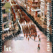 UNITED KINGDOM - CIRCA 2003: Stamp printed in Great Britain celebrating the 50th Anniversary of the Coronation in 1953 of Queen Elizabeth 2nd, circa 2003 - Photo