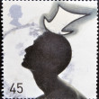UNITED KINGDOM - CIRCA 2001: A stamp printed in Great Britain shows Top Hat by Stephen Jones, circa 2001 - Photo