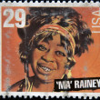 UNITED STATES OF AMERICA - CIRCA 1994: stamp printed in USA shows blues singer Ma Rainey, circa 1994 - Stok fotoğraf