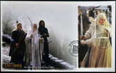 NEW ZEALAND - CIRCA 2003: stamp printed in New Zealand dedicated to The Lord of the Rings shows Gandalf the white, circa 2003 — Stok fotoğraf