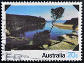 AUSTRALIA - CIRCA 1979: stamp printed in Australia shows Australian National Park, circa 1979 — Foto Stock