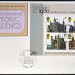 UNITED KINGDOM - CIRCA 1978: Stamps printed in Great Britain dedicated to british architecture, shows historic buildings, circa 1978 — Stock Photo #18736727