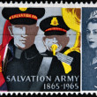 Stock Photo: UNITED KINGDOM - CIRC1965: stamp printed in Great Britain dedicated to Centenary of Salvation Army, circ1965