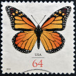 UNITED STATES OF AMERICA - CIRCA 2010: stamp printed in USA shows Butterfly, circa 2010 — Stock Photo