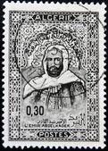 ALGERIA CIRCA 1968: stamp printed by Algeria, shows Emir Abd-el-Kader, circa 1968 — Stock Photo