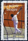FRANCE - CIRCA 2005: A stamp printed in France shows Basque pelota, circa 2005 — Stock fotografie