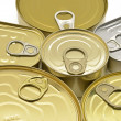 Canned food opener — Stock Photo