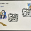 Royalty-Free Stock Photo: SPAIN - CIRCA 1995: a stamp printed in Spain shows Jose Marti, circa 1995