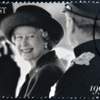 UNITED KINGDOM - CIRC1997: stamp printed in Great Britain shows shows Queen Elizabeth II, circ1997. — Stock Photo #19887701