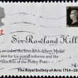 UNITED KINGDOM - CIRC2004: Stamp printed in Great Britain dedicated to 250th Anniversary of Royal Society of Arts, shows Sir Rowland Hill Award, circ2004 — Stock Photo #19887799