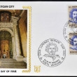 Stock Photo: VATICAN CITY - CIRC1980: Stamp printed in Vaticshows GiLorenzo Bernini, circ1980
