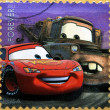 UNITED STATES OF AMERIC- CIRC2011: stamp printed in USshowing image of Cars movie, circ2011 — Stock Photo #19888641