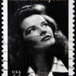 Stock Photo: UNITED STATES OF AMERICA - CIRCA 2010: A stamp printed in USA shows Katharine Hepburn, circa 2010