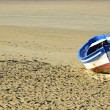 Stock Photo: Boat on beach