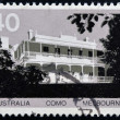 AUSTRALIA - CIRCA 1973: A Stamp printed in Australia shows Como House, Melbourne, circa 1973 - 