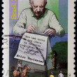 BRAZIL - CIRCA 2005: A stamp printed in Brazil shows Erico Verissimo, circa 2005 - Stock Photo